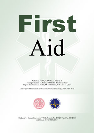 For studying and teaching of first aid from Department of Anaesthesiology and Resuscitation, Third Faculty od Medicine, Charles University