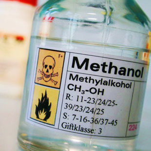 Methanol intoxication has become a very actual topic within last year. The great danger of accidental poisoning lies in inability to recognize methanol while drinking it and distinguish it from ethanol and so avoid drinking greater amount of it. This algorithm takes us through the situation from ensuring the patient in prehospital care until professional treatment and therapy in the hospital.