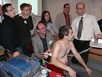 Ultrasound workshop at the pneumology section